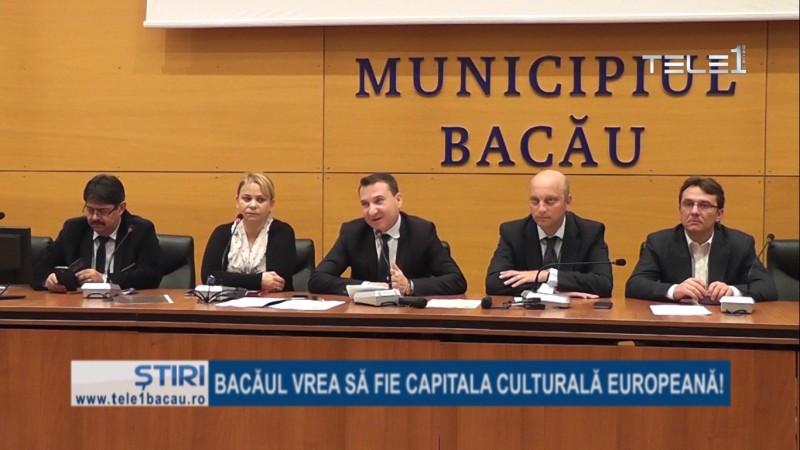 Bacăul ar putea fi Capitala Culturală Europeană. Deocamdată este vorba de un proiect pe care municipalitatea băcăuană vrea să-l deruleze în parteneriat cu primaria din Chişinău.