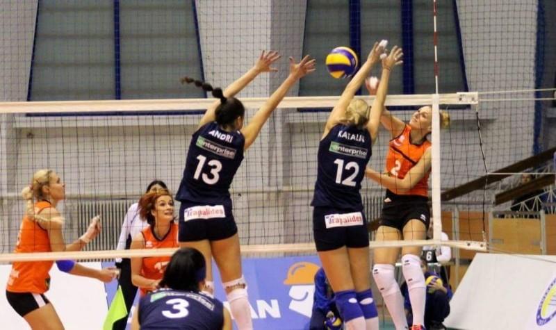 Volei feminin: Știința Bacău – Apollon Prestige Limassol (3-0)