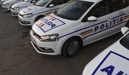 Traficul din judeţul Bacău va fi supravegheat cu șapte autoturisme Volkswagen Polo