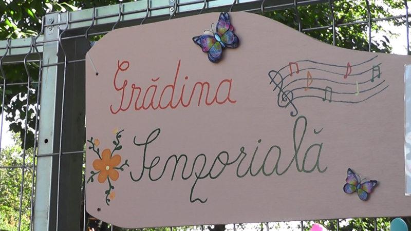 """""""GRADINA SENZORIALA"""" LA CENTRUL """"DELFINUL"""" BACAU"""