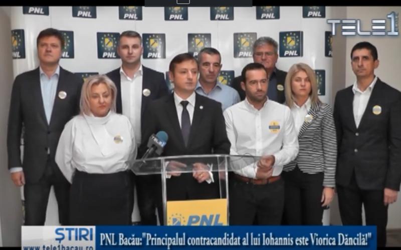 """PNL Bacău:""""Principalul contracandidat al lui Iohannis este Viorica Dăncilă!"""""""