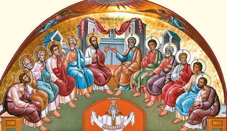 Rusaliile şi Pogorarea Duhului Sfânt – sărbătoarea întemeierii Bisericii creştine