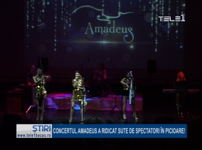 Concertul Amadeus a ridicat sute de spectatori în picioare!