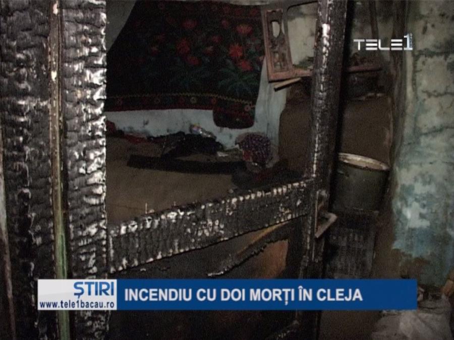 Incendiu cu 2 morți in Cleja