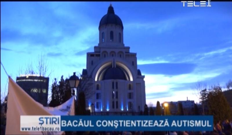 Catedrala a devenit albastră