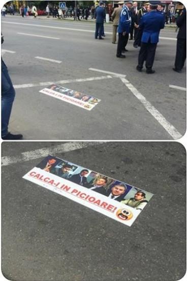 IMAGINEA ZILEI / Afiș penal lipit de penali politici