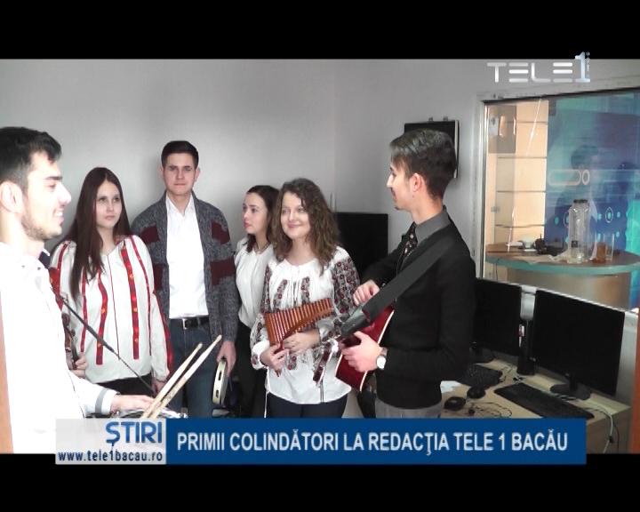 PRIMII COLINDĂTORI ÎN REDACȚIA NOASTRĂ