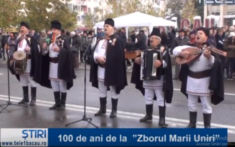 """100 de ani de la  """"Zborul Marii Uniri"""""""
