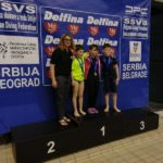 """Aur și argint pentru băcăuani la """"Belgrad Diving Tropy"""""""