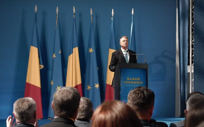 PNL sprijină candidatura lui Klaus Iohannis la Președinția României!
