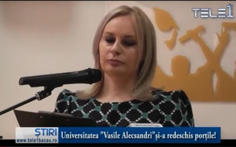 """Universitatea """"Vasile Alecsandri"""" și-a redeschis porțile!"""